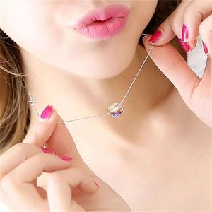 Jewelry - Magic Cube Crystal Women Necklace